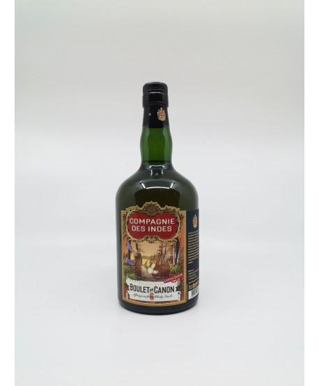 BOULET DE CANON N°6 Whisky Tourbé LA COMPAGNIE DES INDES 46%