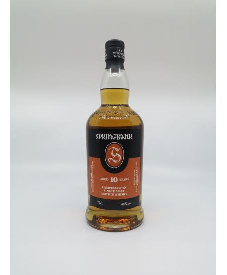 WHISKY CAMPBELTOWN SPRINGBANK 10 ans 46%
