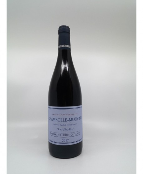CHAMBOLLE MUSIGNY Les Véroilles BRUNO CLAIR 2017