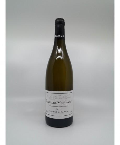 CHASSAGNE MONTRACHET Blanc Vieilles Vignes VINCENT GIRARDIN 2017