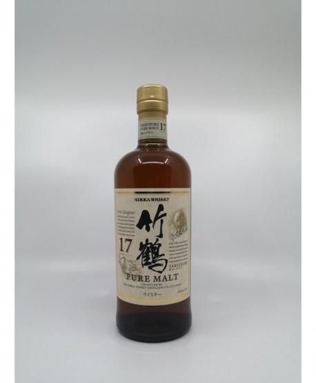 JAPON Pure Malt NIKKA Taketsuru 17 ans 43%